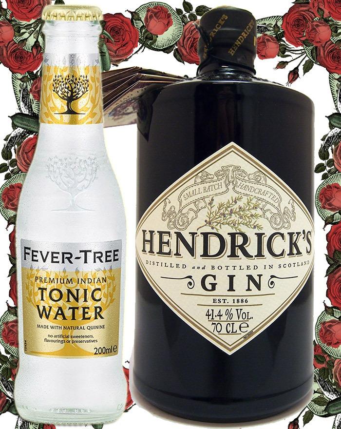 Hvilken tonic passer bedst til Hendrick's Gin?