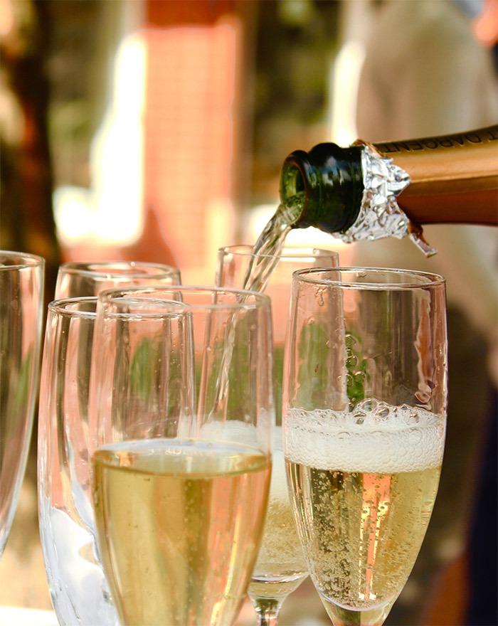 Nytårschampagne 2020: Hvilken champagne passer bedst til kransekage?