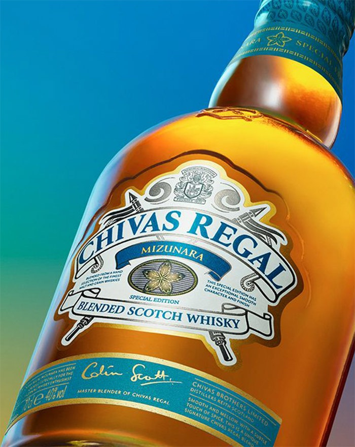 Ny blended whisky Chivas Regal Mizunara