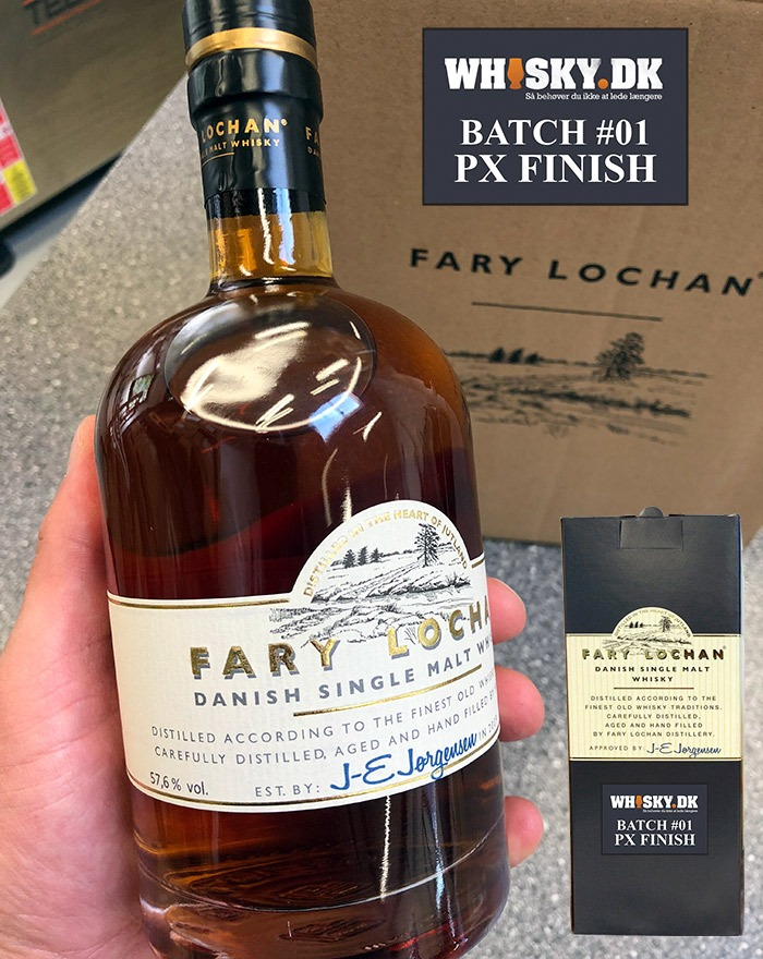 Fary Lochan Single Cask Whiskydk PX Sherry Cask
