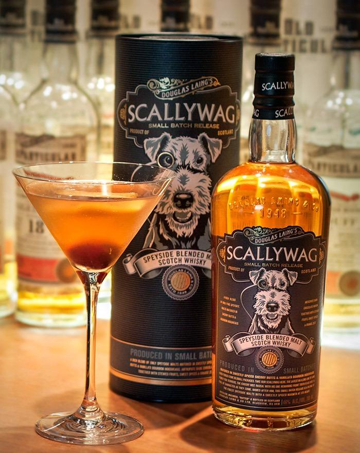 The Manhattan Cocktail med Scallywag Whisky fra Douglas Laing
