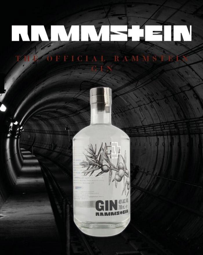 Rammstein Gin - Nyhed til alle Rammstein fans med hang til gin