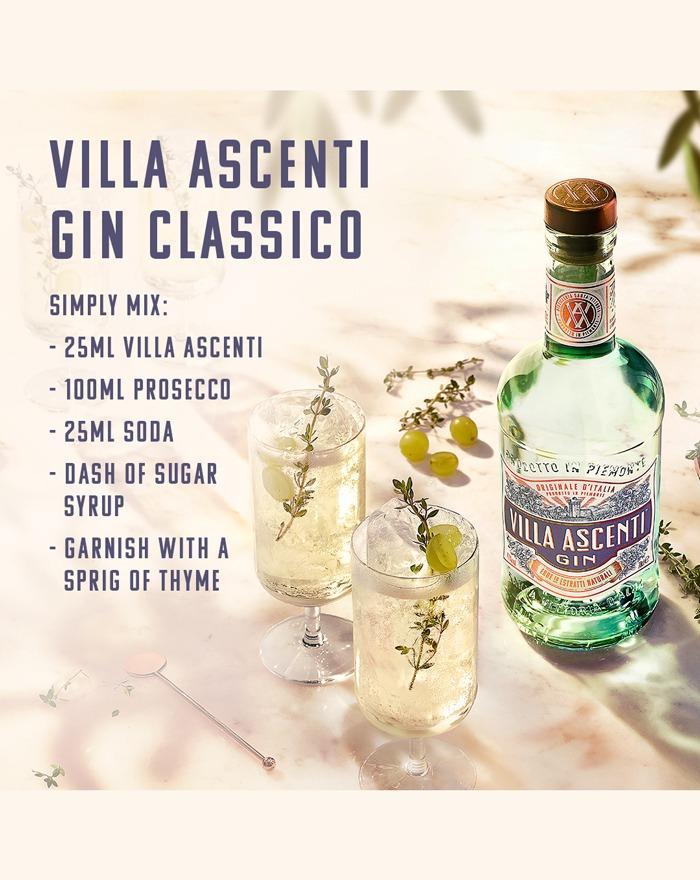Villa Ascenti Gin Classico Cocktail