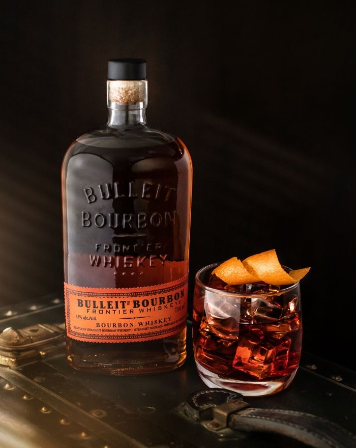 Bulleit Frontier Old Fashioned Cocktail