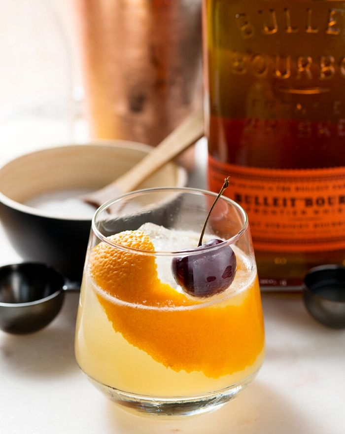 Bulleit Frontier Whiskey Sour Cocktail