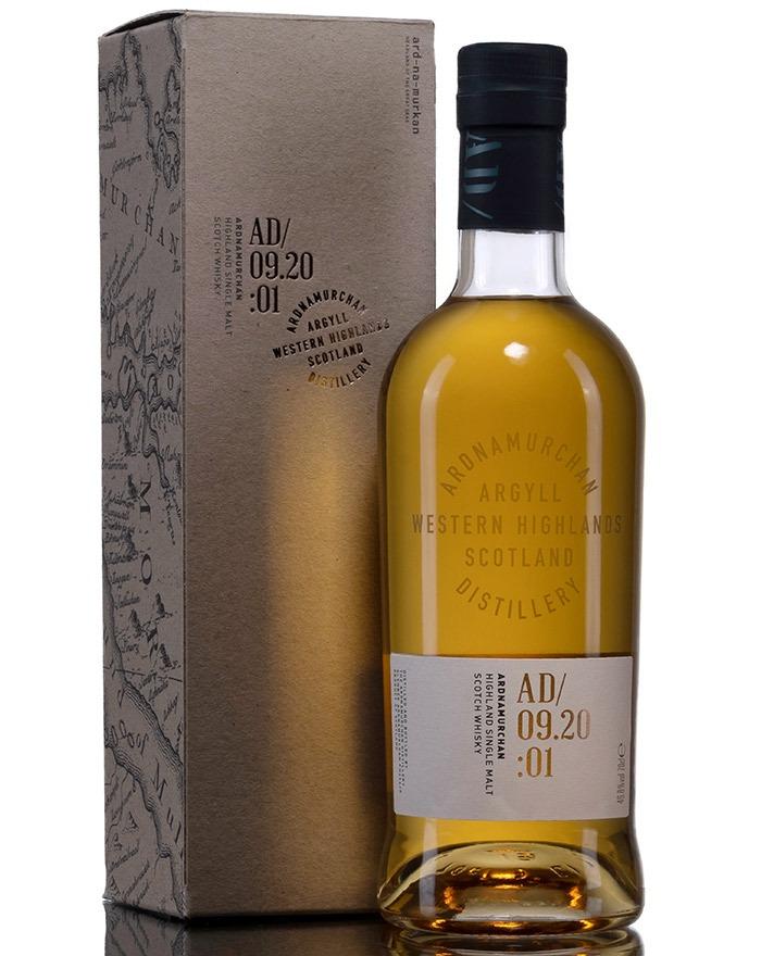 Første officielle Single Malt Whisky fra Ardnamurchan Distillery