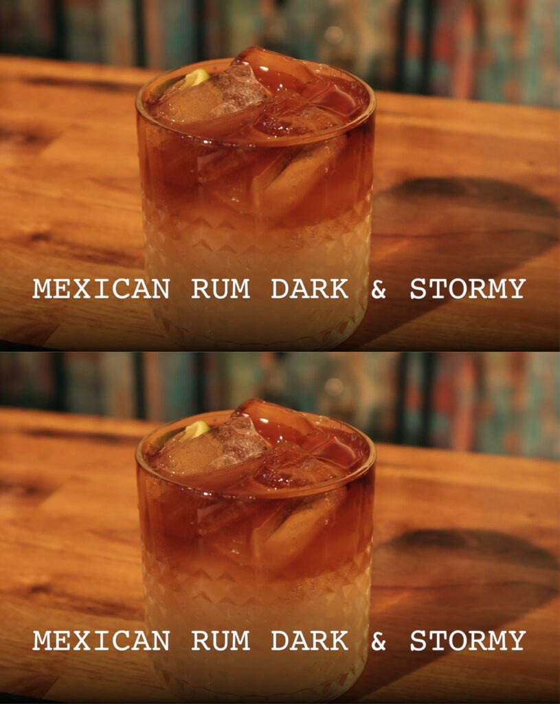 Mexicansk Dark & Stormy