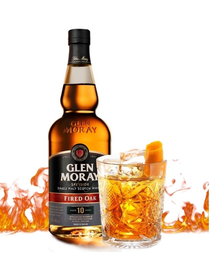 Glen Moray Fired Oak Old Fashioned Cocktail Opskrift