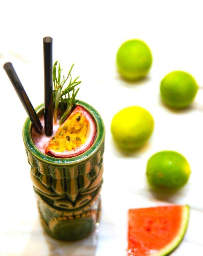 Colada Crusher Cocktailopskrift med Bacoo Rum