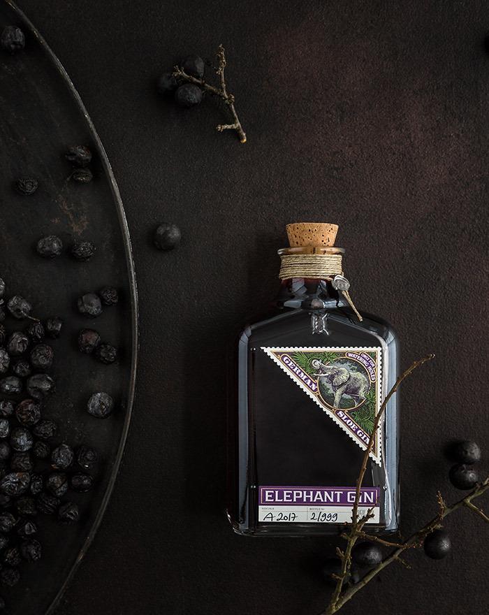 Sloe Gin Bramble opskrift med Elephant Sloe Gin