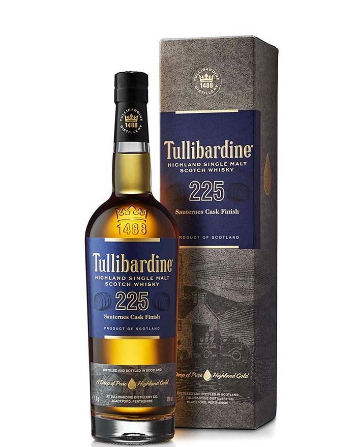 Tullibardine 225 Sauternes Finish Single Highland Malt Whisky 70 cl 43%