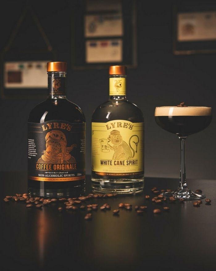 Fungerer som substitut for Espresso Martini - find opskriften på vores blog