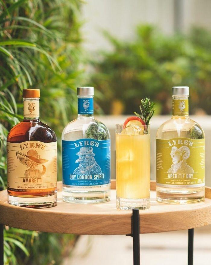 Frugtplantage-Fizz Cocktail